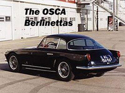 The OSCA Berlinettas – Veloce Today, January 2011. Peter Vack